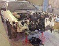 AE86鈑金修理!
