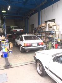 AE86車検&エアコン修理!
