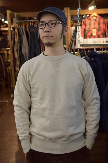 STUDIO D'ARUTISAN Loop wheel Sweat Shirt