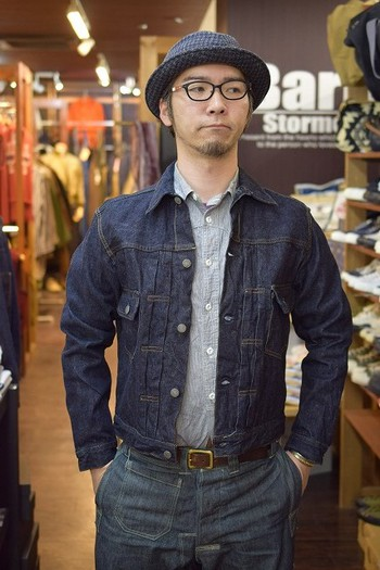 The REAL McCOY'S Second Type Denim Jacket