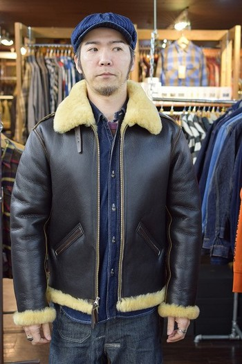 Y'2 LEATHER Mouton Jackets