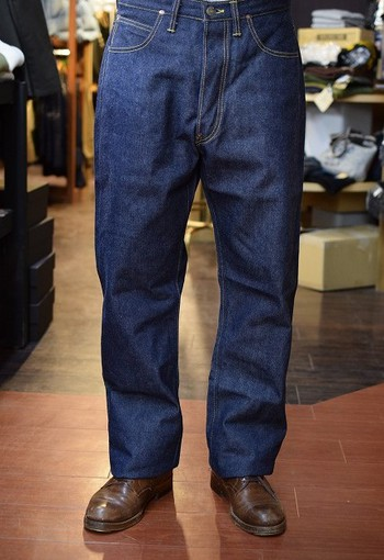 The REAL McCOY'S 14.5 oz Denim