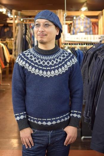 Stevenson Overall Nordic Sweater