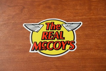 The REAL McCOY'S Stickers