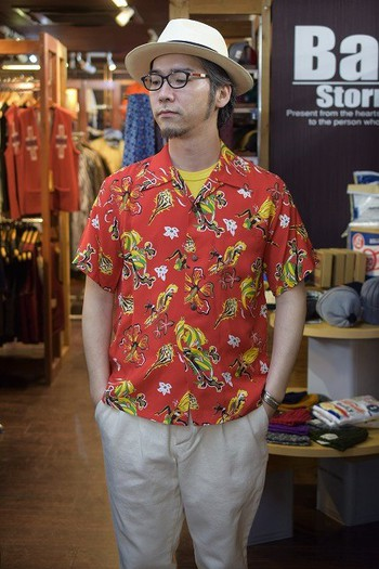 "SUN SURF Aloha Shirt ""Ocean Toy Box"""