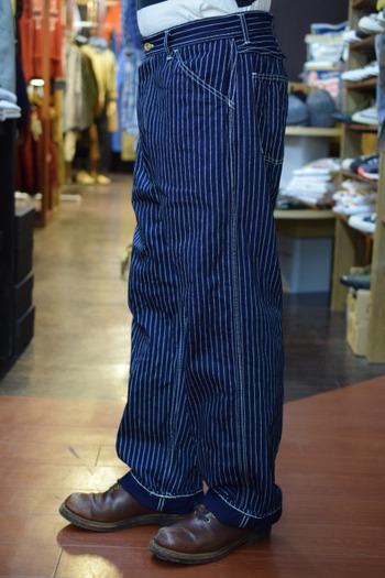 The REAL McCOY'S Wabash Stripe Trousers