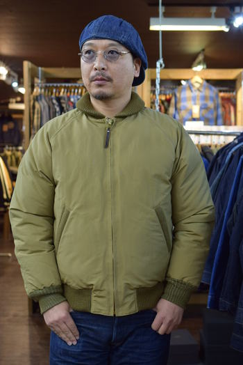 COLIMBO General Down Jacket