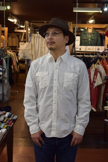 MISTER FREEDOM Surplus Broad Cloth Dude Rancher Shirt