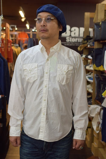 MISTER FREEDOM Broad Cloth Shirt