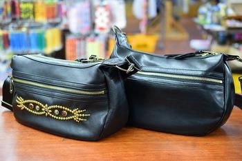 CUSHMAN Leather Shoulder Bag