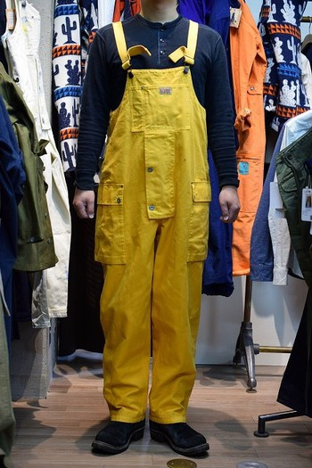 Nigel Cabourn 2019 FW Naval Dungaree