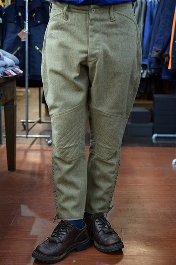 The REAL McCOY'S Wool Combat Field Breeches