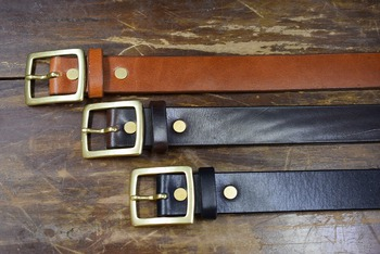 ORGUEIL Mirage Leather Belt