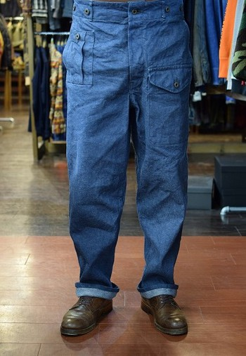Nigel Cabourn Battle Dress Pants