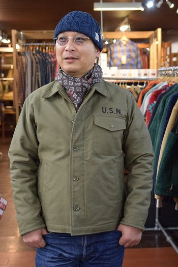 The REAL McCOY'S A-2 Deck Jacket