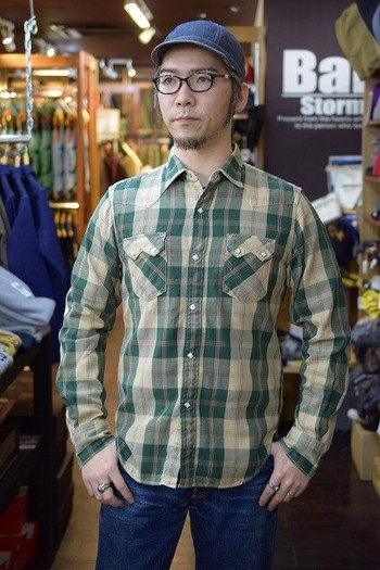 JELADO Vintage Check Western Shirt