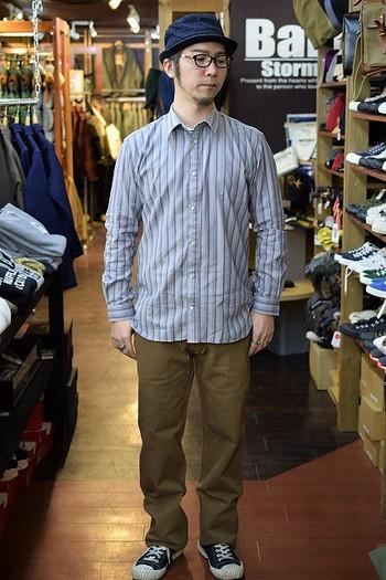 ORGUEIL Standard Collar Shirt