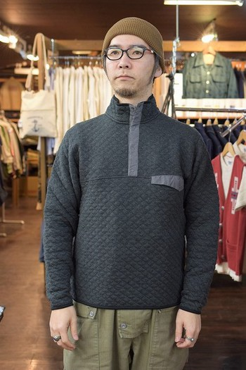 COLIMBO Quilted Pullover Shirt