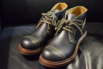 Nigel Cabourn X RED WING Munson B-5 Chukka Boots