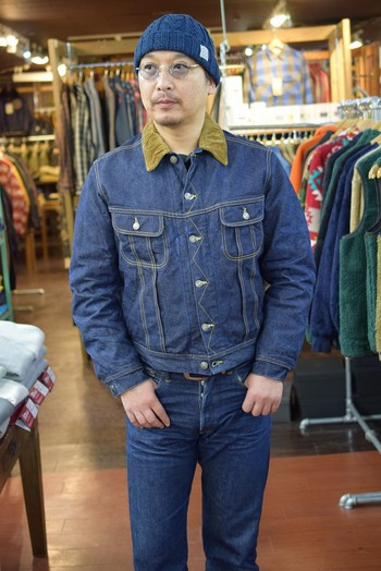 The REAL McCOY'S Lot002LJ Denim Jacket
