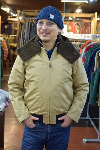 The REAL McCOY'S Seebees Deck Jacket