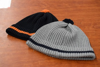 The REAL McCOY'S Cotton Knit Bobble Cap