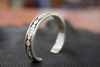 Native American Jewelry Bungle & Ring by Dan Jackson