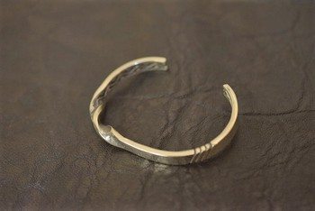 Stamp Bangle by Sunshine Reeves