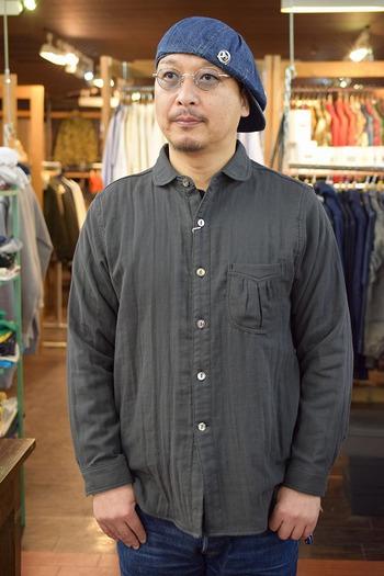 Dapper's Classical Round Collar Shirt