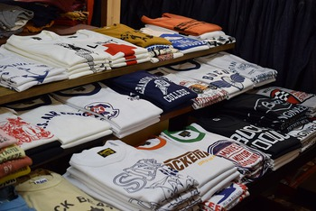 Tons of T-shirts from The REAL McCOY'S!