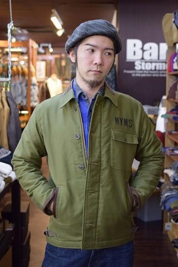 Pherrow's Decorated A-2 Deck Jacket