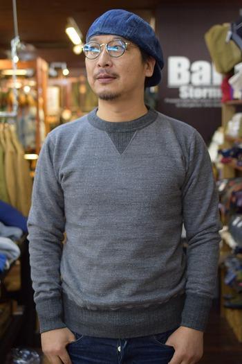 STUDIO D'ARUTISAN Scan Vin Gold Sweat Shirt