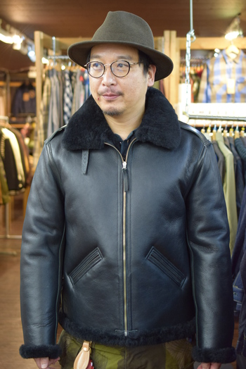 Y'2 LEATHER Mouton Jacket
