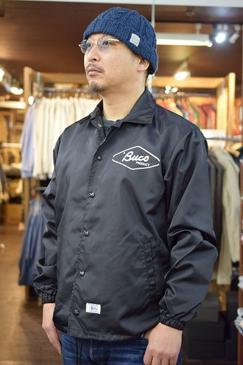 The REAL McCOY'S BUCO Coach Jacket