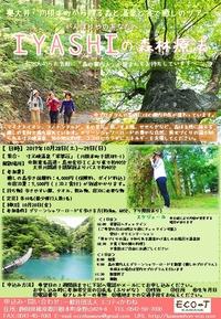 【募集中】10/28(土)~29(日) IYASHIの森林療法