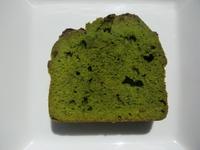 静岡産の抹茶ケーキ