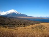 山中湖,風花,富士山