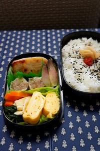 カジキマグロの西京焼きでお弁当