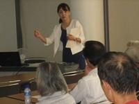 「おやじの井戸端講座」8月学習会