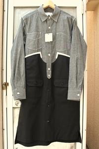 GANRYUの5回目前倒しです。ワンピース、シャツコート、ロングシャツ