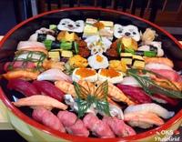 飾り巻寿司盛り込み細工寿司