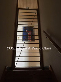 ピアノ教室の看板猫?