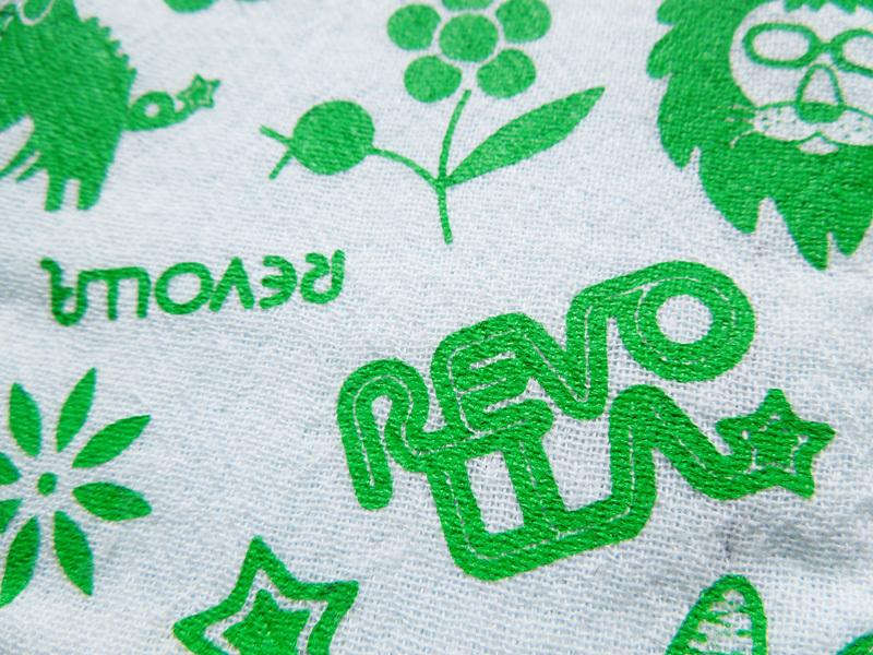 【牧之原/日本製】 先染め織物 二重ガーゼ 子供用マスク (グリーン/ピンク)