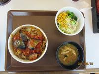 すき家でなすのアラビータ牛丼を食べてみました。