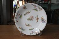1922年 Royal Worcester/ロイヤルウースター 「Pekin」花蝶文大皿/プレート