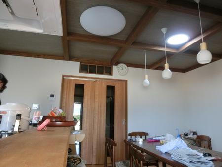 暗かったキッチンとリビングが明るくなったんです。