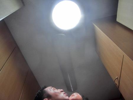 これが自然光